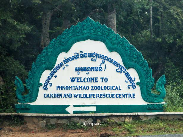 Phnom Tamao Zoological Park and Wildlife Rescue Center